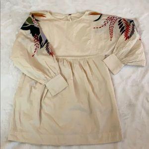 Free People Boho Tribal Design Dress/ Tunic . XS